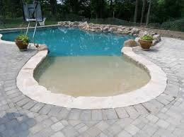 fiberglass pools with beach entry. Wonderful Fiberglass Beach Entry Fiberglass Pools  Beach Entry On Fiberglass Pools With E