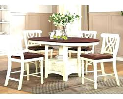 phenomenal oval counter height dining sets decoration oval counter height table white dining set and chairs sets glass dining room table with white chairs