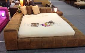 modern king bed frame. Delighful Bed Modern Bedroom Furniture Luxury Bed Frame King Size  Fabric Double Soft E610 In Modern King Bed Frame L