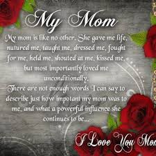 I Love You Mom Quotes From Daughter Best i love my mom quotes from daughter My Mom I Love You Quotes and