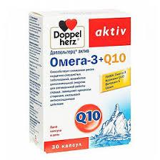 <b>Доппельгерц Актив Омега</b>-<b>3</b>+ Коэнзим Q10 капсулы, 30 шт ...
