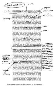 paris review gabriel garcia marquez the art of fiction no  view manuscript
