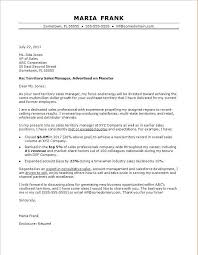 example of a professional cover letters sales cover letter sample monster com
