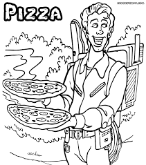 Small Picture Pizza coloring pages Coloring pages to download and print