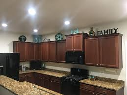 decorating above kitchen cabinets. Delighful Kitchen Decorating Above Kitchen Cabinets Tuscan Style Home With N