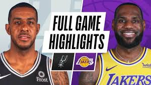 SPURS at LAKERS | FULL GAME HIGHLIGHTS | January 7, 2021 - NBA - News For  Today