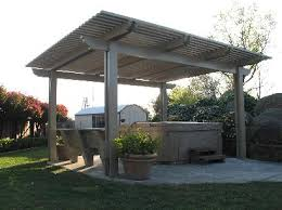 free standing aluminum patio covers. Freestanding Ultra Tek Patio Cover Over Spa Free Standing Aluminum Covers V