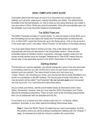 Word Thesis Template Thesis Word Template User Guide Department Of Physics