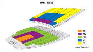 Wang Theater Boston Seating Chart Citi Wang Box Office Woodbury Common Prime Outlets