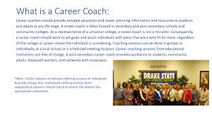 drake state community and technical college career coaching services career coaching