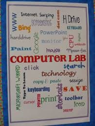 152 Best Computer Lab Decor Images In 2019 Computer Lab