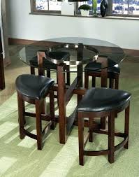 triangular dining sets glass triangular