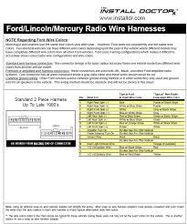 1988 fox radio wiring problem mustang forums at stangnet aftermarket radio wiring harness color code at Aftermarket Radio Wire Colors