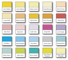 Optix Paper Colour Chart Optix Paper Print Design