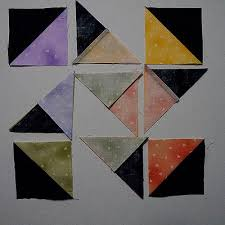 How To Sew The Card Trick Quilt Block | Quilts By Jen & Half Square triangles and quarter square triangles Adamdwight.com