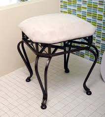 bathroom vanity bench upholstered stool small large size of chair vanities