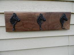 Rubbed Bronze Coat Rack Walnut Coat Rack with Oil Rubbed Bronze Painted by WoodZProducts 72