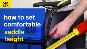 How To Set Saddle Height For Comfortable Endurance Cycling