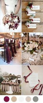 Marsala Taupe And Sage Neutral Wedding