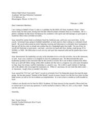 Sample Letter Of Recommendation For Scholarship 10 Free Documents