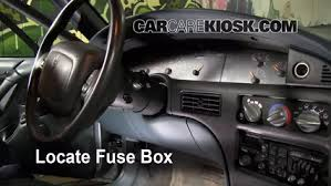 94 buick century fuse box location interior fuse box location 1990 1999 buick lesabre 1992 buick locate interior fuse box and remove