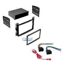 stereo wiring harness chevy car radio stereo dash kit w wiring harness for 2004 2010 chevy pontiac saturn
