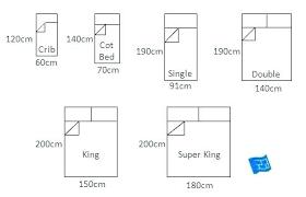 Single Bed Measurements Marverde Co