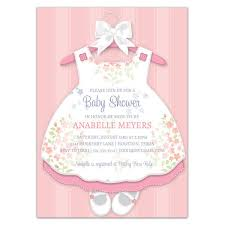baby girl invite baby girl dress invitations