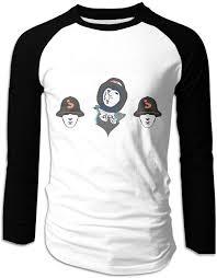 Jabbawockeez T Shirt Design Amazon Com Gongwe Jabbawockeez Crew Neck Mens Long Sleeve