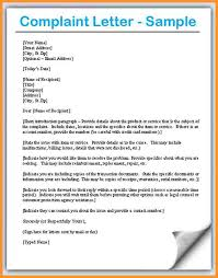 complaint letter examples 10 complaint letter sample buisness letter forms