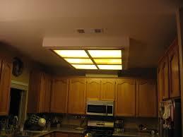 Kitchen Fluorescent Light Fixtures Replace Box Kitchen Fluorescent Light Modern Home Design Ideas
