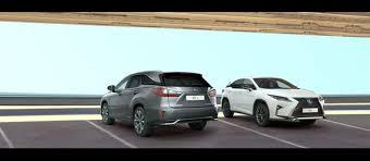 Lexus Suv Size Chart Lexus Suv Sizes Explained Lexus Uk