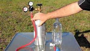 home made big carbonation system for 45 00 and 4x the power of soda steam you
