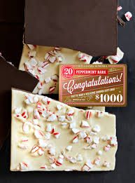 20th anniversary of peppermint bark