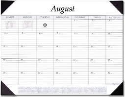 17 Month Calendar Academic Desk Pad Calendar 17 Month Stp 17