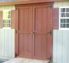 exterior shed doors double for sheds in fabulous home nz door design shed door handles image of luxury exterior sliding barn hardware doors ideas