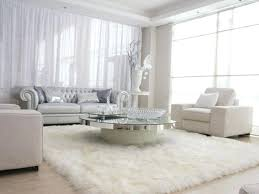 furry rugs uk impressive living room big size rectangle white rug in fur area attractive