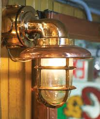 interesting lighting. Old Ship Lights In Brass And Copper May Be Stripped Polished, Or Their Patina Interesting Lighting E