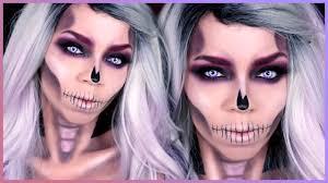 easy skull makeup tutorial skull makeup tutorial