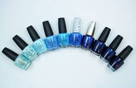 Opi Purple Color Chart My Favorite Blue Opi Nail Lacquer Colors Vampy Varnish