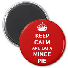 Image result for eating mince pie clipart