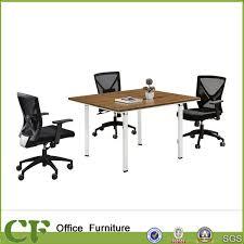 china 2018 white leg square size modern metal office small conference table china small conference table modern conference table