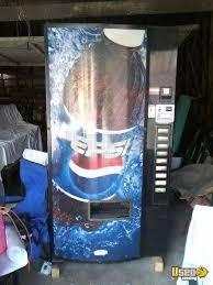 Dixie Narco Pepsi Vending Machine Magnificent Dixie Narco 48E Electronic Soda Vending Machine Used Pepsi Machine