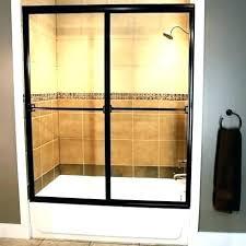 bathtub sliding glass doors bath parts shower tub removing