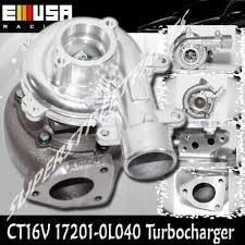 CT16V 17201-OL040 Turbo for Toyota Land Cruiser D-4D 1KD-FTV Engine ...