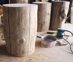trunk table furniture. diy tree stump side table trunk furniture