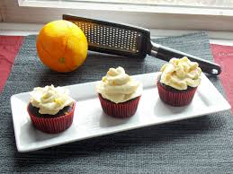 Mocha Cupcakes With Orange Cream Cheese Frosting My Clean Kitchen