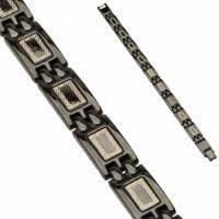 Купить мужской стальной <b>браслет</b> черного цвета <b>Spikes SSBH</b> ...