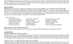 Extracurricular Activities For Resume Resume Online Builder