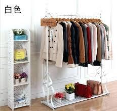 clothes rack with shelves clothes rack shelf see larger image wall with clothes rack shelf big